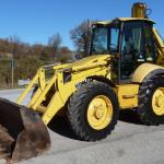 Traktoriai- Komatsu WR93S